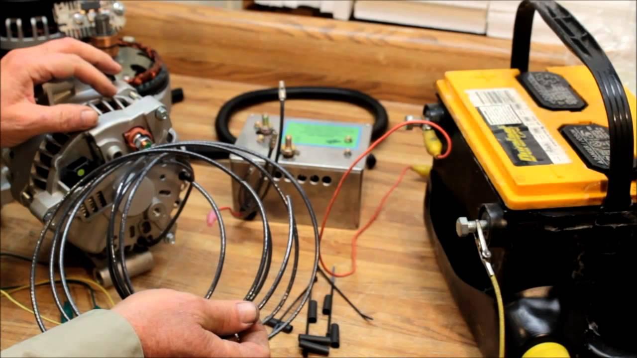 Ford 6g Type Triple Bridge Rectifier High Output Alternator Wiring Instructions