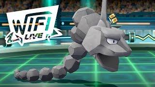 Pokemon Let's Go Pikachu & Eevee Wi-Fi Battle: Onix Is So Big! (1080p)