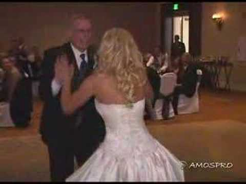 Funny Father / Daughter Dance A Wonderful White Wedding