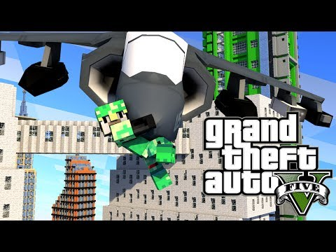 Minecraft GTA V | Grand Theft Auto 5 Mod Ep 12!