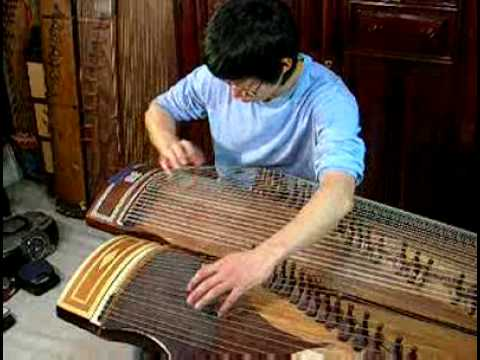 cannon variation 48 a string gayageum play   48   Music Videos