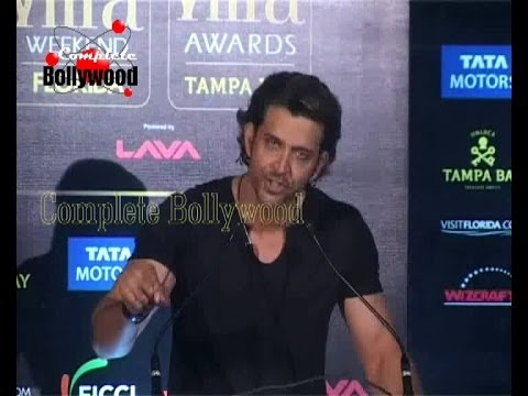 Hrithik Roshan, Shahid Kapoor, Farhan Akhtar at the IIFA Press Conference Part 1
