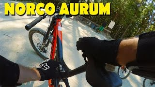 Coast Gravity Bike Park - Riding a Norco Aurum! | Jordan Boostmaster