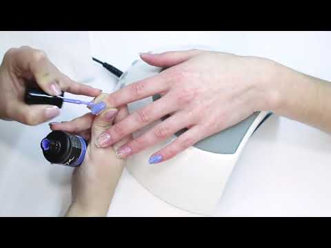 Permanent Nail Polish Gel On-Off Step By Step