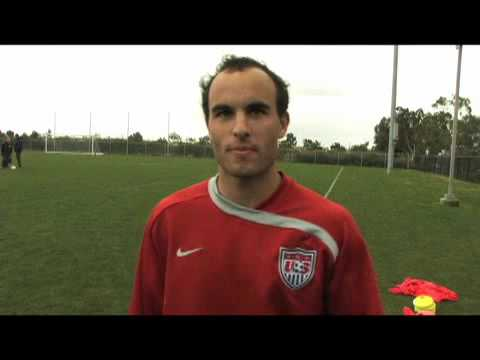 Landon Donovan Camera Incident Video