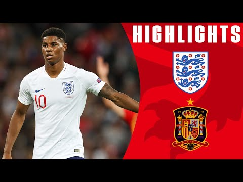 England 1-2 Spain |  Last-minute Equaliser Controversially Ruled Out | Official Highlights