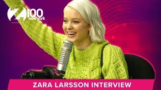 Download Lagu Zara Larsson Says It's Time For Her To Break America | Z100 Gratis STAFABAND