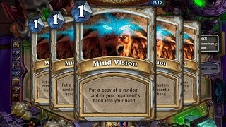 Hearthstone - The Best Use of Mind Vision