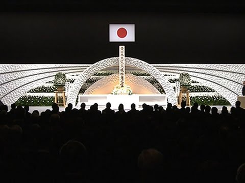 Raw: Japan Marks 4th Anniversary of Tsunami