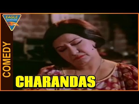 Charandas Hindi Movie || Manorama Funny Sleeping Comedy Scene || Eagle Entertainment Official