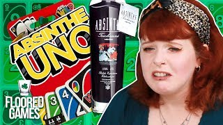 ABSINTHE UNO - Irish People Try Drunk Uno | Floored Games