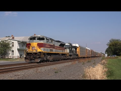Trains on the Norfolk Southern Harrisburg Line Late Summer 2015