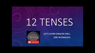 ENGLISH LESSON 04 - 12 TENSES IN SINHALESE