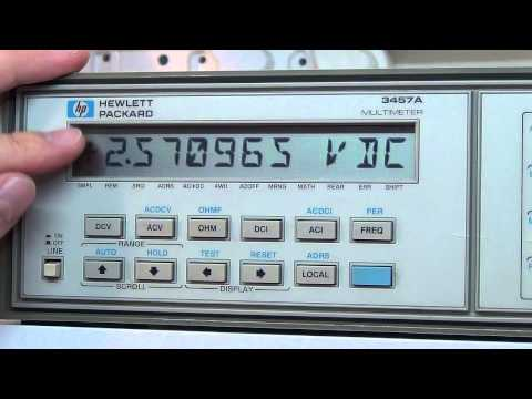 Multimeter Review / buyers guide: Part 1 - HP 3457A 6.5 / 7.5 digit precision bench multimeter