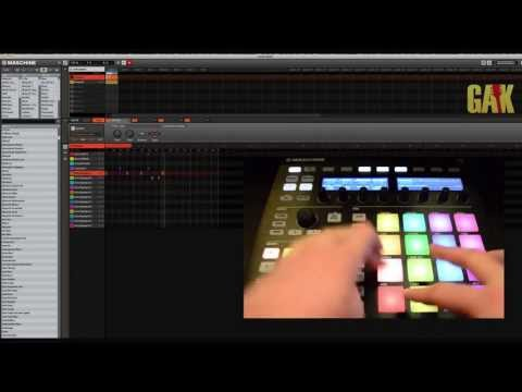 Native Instruments - Maschine MK2 Demo at GAK