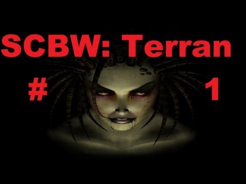 SC Brood war Terran Mission 1. [Starcraft 2 remake]