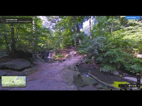 Explore iconic Central Park with Google Maps