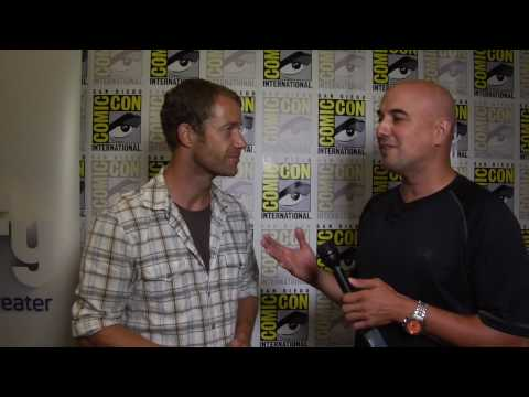 Colin Ferguson (Sheriff Jack Carter) interview for Eureka at Comic Con 2010 Video