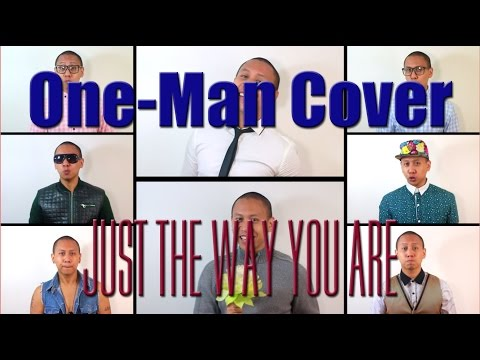 A One-man Cover Of just The Way You Are By Bruno Mars video