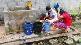 Al fresco bathing  /LifeInThePhilippines