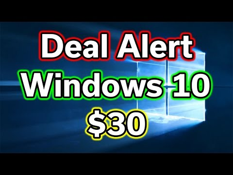 Windows 10 Pro - $30