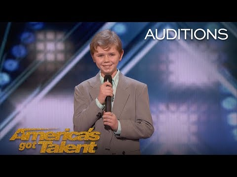 Patches: 13-Year-Old Shocks Audience With Rap Original - America's Got Talent 2018