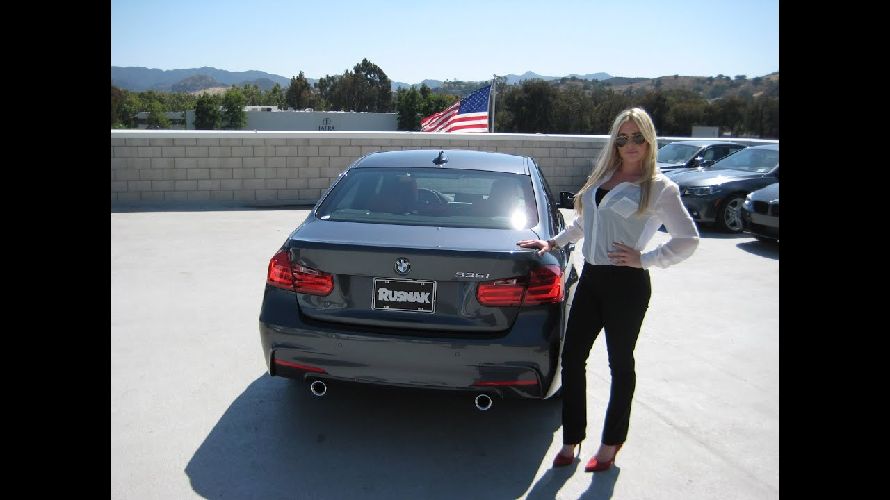 New bmw 335i m sport package 19 quot m wheels quick bmw review youtube