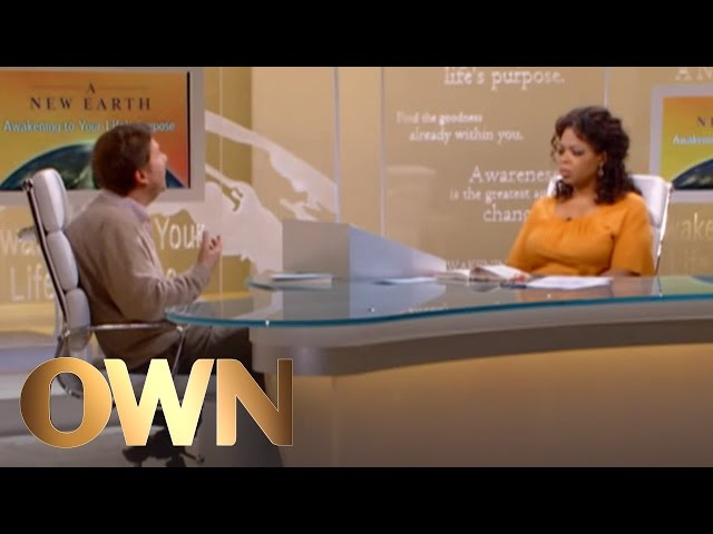 Why Eckhart Tolle Considered Suicide - A New Earth - Oprah Winfrey Network