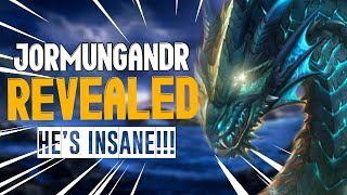 SMITE JORMUNGANDR RELEASE! CRAZIEST ULT IN THE GAME! The World Serpent Update Notes/Patch Notes