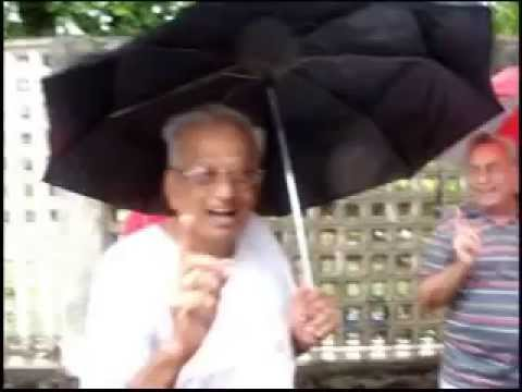 Laughter Yoga In The Rain Mumbai India