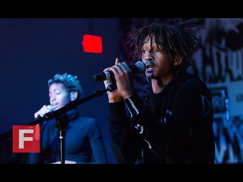 Jaden Smith & SZA Join Willow Smith At The FADER FORT