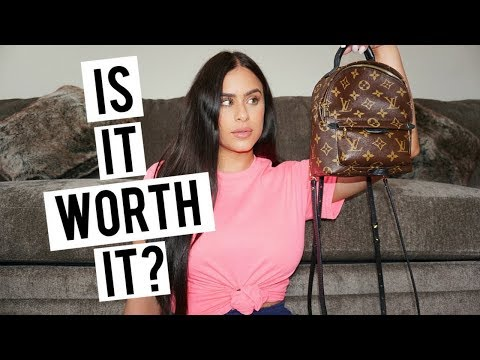 What's In My Bag | LV Palm Springs Mini Backpack