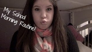 My School Morning Routine!