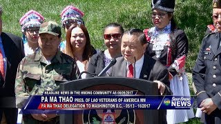 SUAB HMONG NEWS:  2017 Pa Ma Thao Delegation to Washington DC