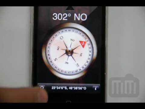 Teste da Bússola (Compass) do iPhone 3G S
