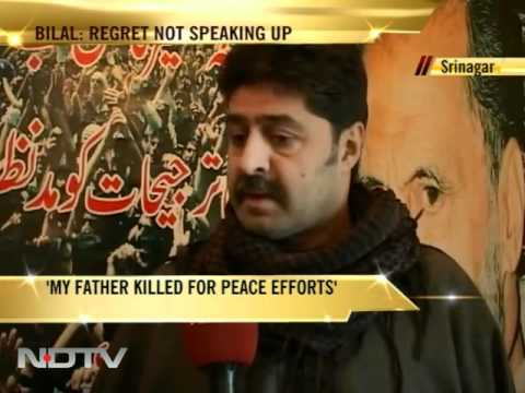 I failed as a son: Hurriyat leader Bilal Lone