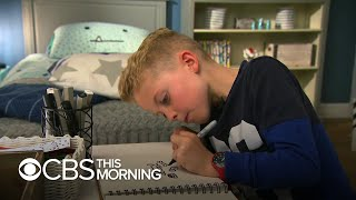 10-year-old's doodles become a hit