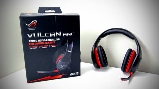 ASUS Vulcan ANC Gaming Headset Unboxing & Overview (UGPC 2012)