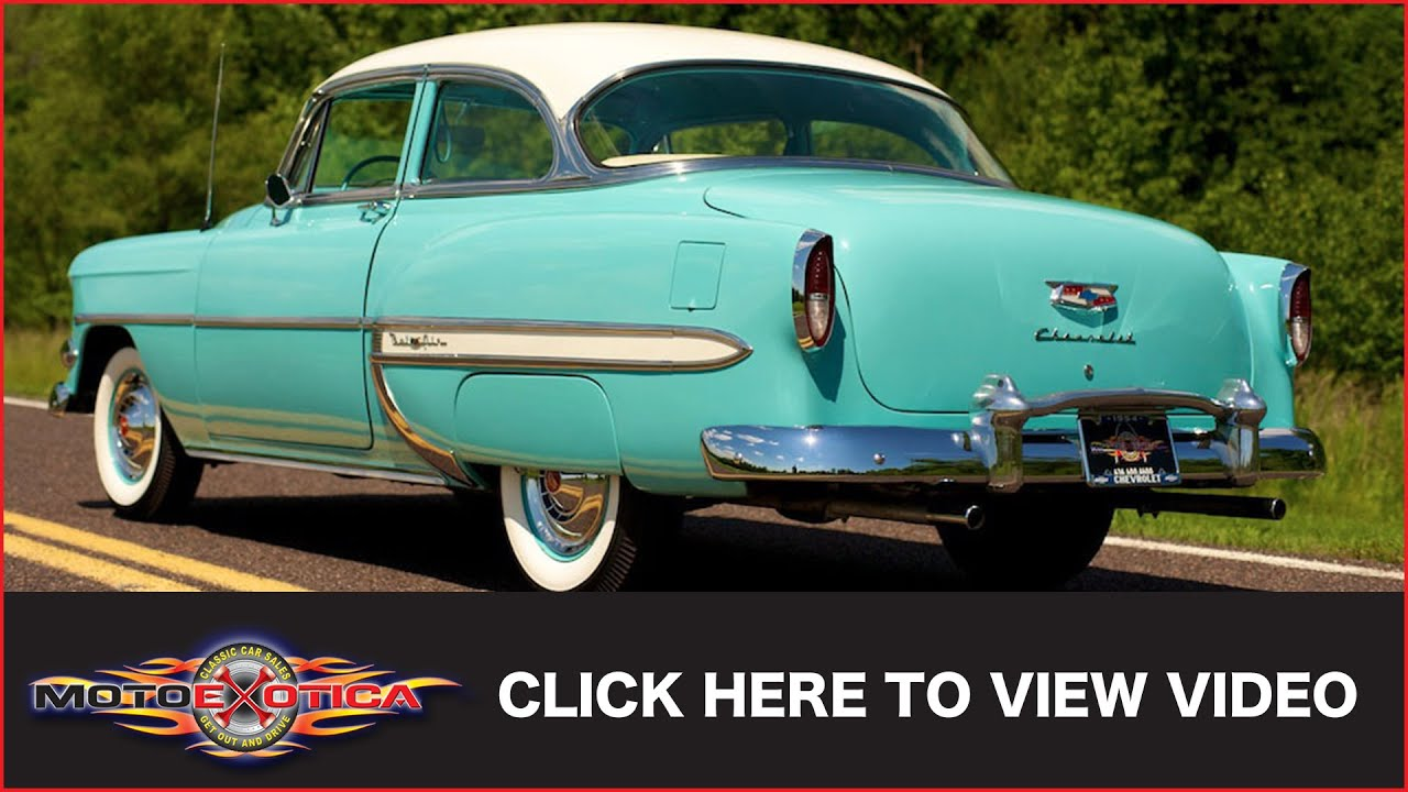 1954 chevrolet bel air sold youtube