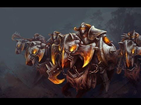 Chaos Knight  - гайд dota 2.  Лошадка дымит -  ээ дымит на ходу!