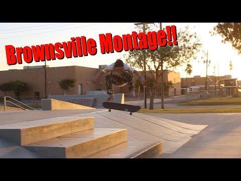 Brownsville Skatepark Montage!!