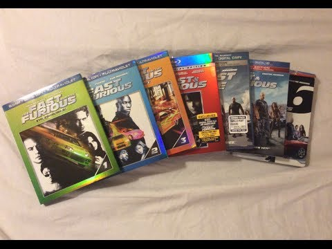The Fast and the Furious: Complete Franchise Collection (2001-2013) - Blu Ray Discussion Review