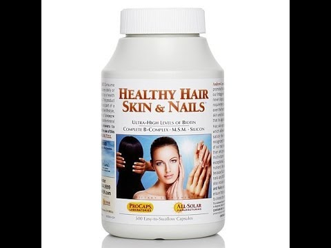 Healthy Hair, Skin   Nails  500 Capsules