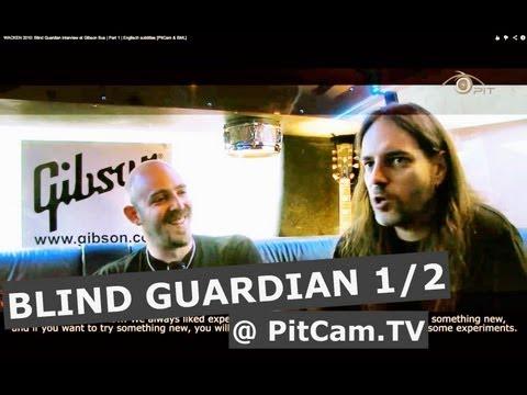 WACKEN 2010: Blind Guardian interview at Gibson Bus   Part 1   Englisch subtitles [PitCam&BML]
