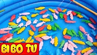 Trò Chơi Câu Cá Trẻ Em & Đồ Chơi Cho Bé Trai | Fishing Toy Games For Kids