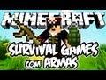 Survival Games com Armas: Minecraft (Novo)