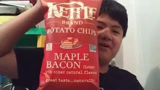 Kettle Brand Potato Chips: Maple Bacon | Food Review #23