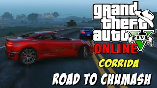 GTA 5 Online - Road to Chumash - A Corrida do Chimarrão !? xD