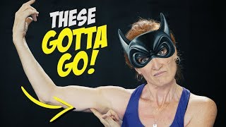 The 5 BEST EXERCISES TO LOSE BAT WINGS (Arm Sculpting Workout)