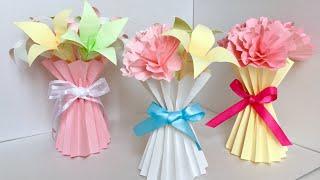【コピー用紙】花器、ブーケ風ラッピング   【A4Paper】 Flower vase, Bouquet style wrapping